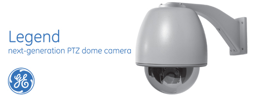 Legend PTZ Cameras from GE Security