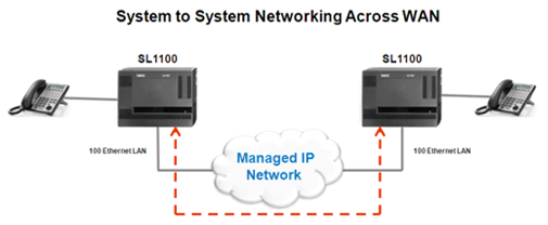 System to System Networking Across WAN