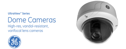 UltrView Series Dome Cameras