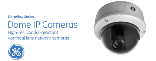 Ultraview Series Dome IP Cameras